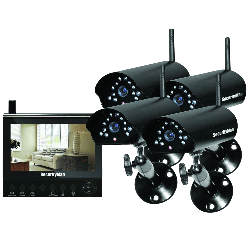4-Channel Wireless Security System