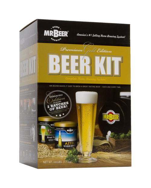 Gold Edition Home Brewing Craft Beer Kit