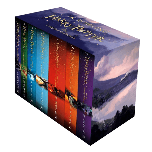 Harry Potter The Complete Collection 7 Books Set