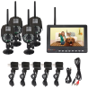 Digital Wireless DVR Security System with New Vision-upgrade Durable Model