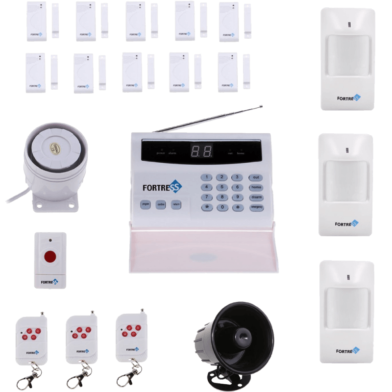 Wireless Home Security Alarm System Kit with Auto Dial + Outdoor Siren
