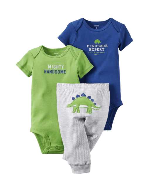 Carter's Baby Boys' 3 Piece Take Me Away Set