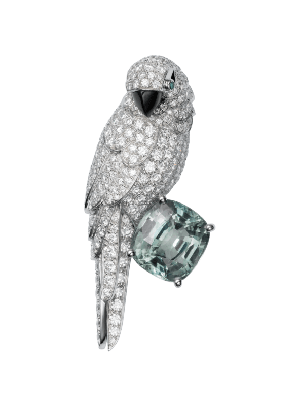 Cartier Fauna and Flora brooch