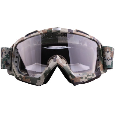 Coface Dustproof Scratch-Resistant Bendable Goggles for Motocross