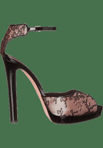 Alexander McQueen Sandal Tessu S.Cuoio