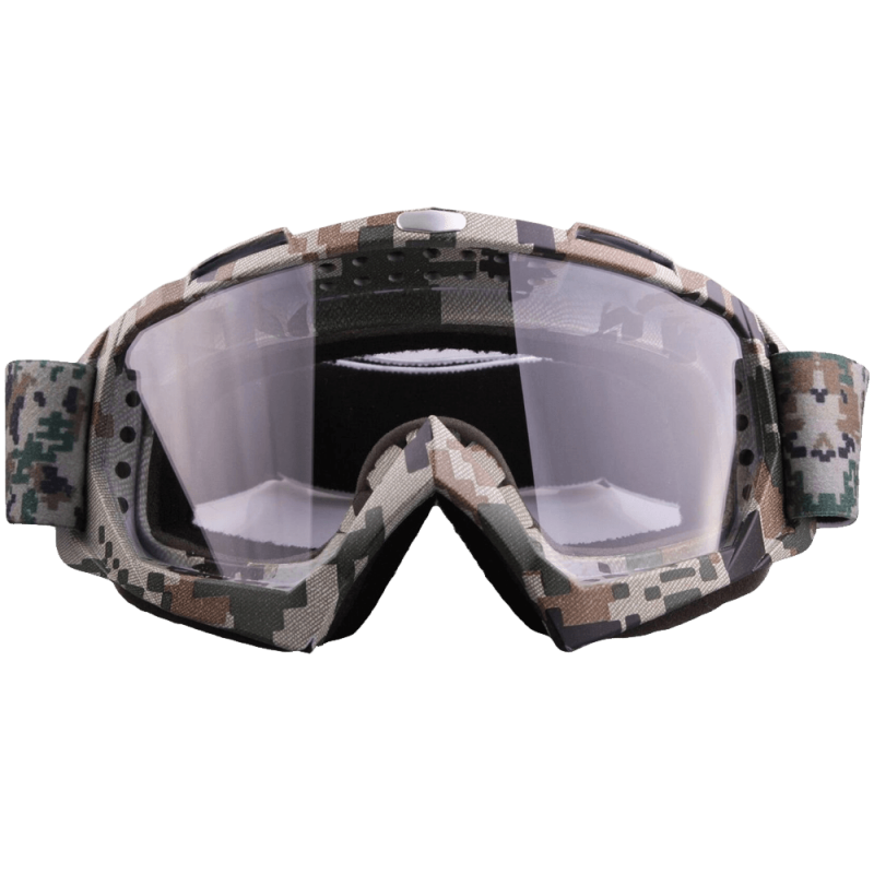 Coface Dustproof Scratch-Resistant Bendable Goggles for Motocross