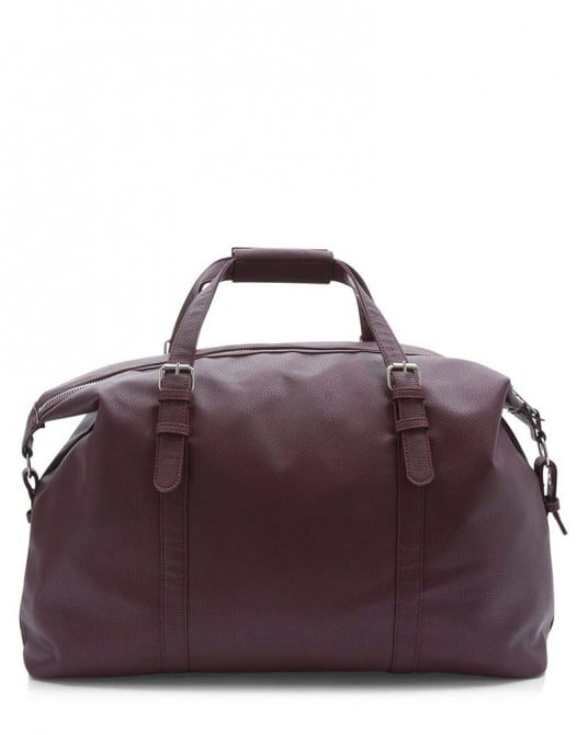 Leather-Look Holdall