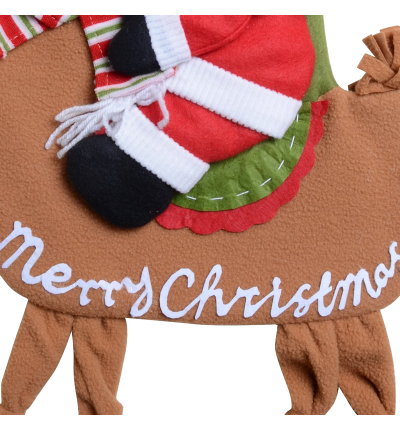 QBSM Classic Cute Christmas Stocking Decorations Gift Bag