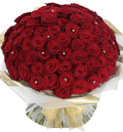 Grand Prix Rose Hand tied