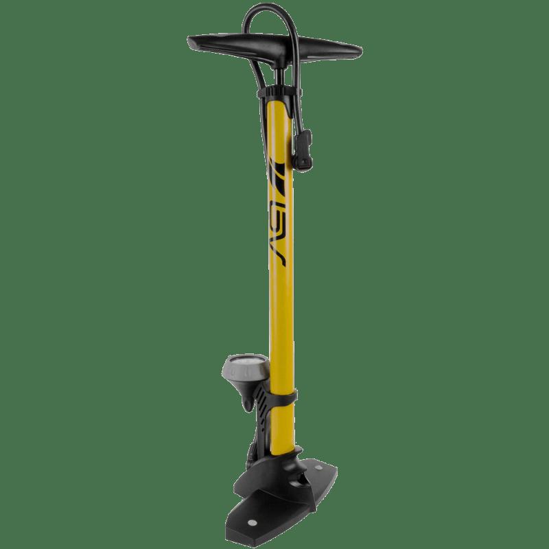 Steel Floor Pump with Gauge