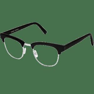 Hayes Eyeglasses in Jet...