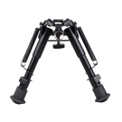 6- to 9- Adjustable Spring Return Sniper Hunting Rifle Bipod Sling Swivel Mount