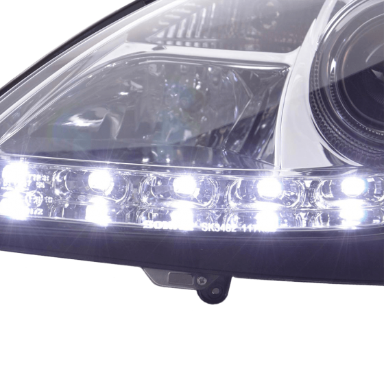 Headlight Daylight Mercedes E Class 211