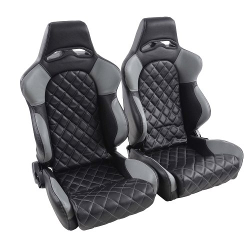 Portseat-Set-Las-Vegas-Artificial-Leather-Black