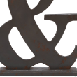 Deco 79 Industrial Chic Wooden Ampersand