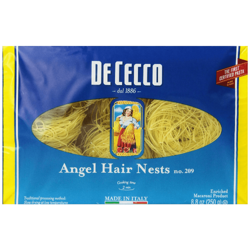 De-Cecco-Angel-Hair-Nests,-8.8-Ounce-Boxes-(Pack-of-5)