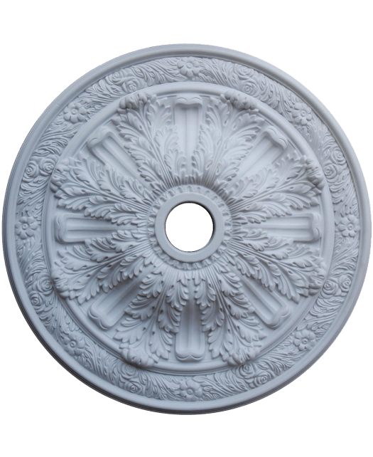 Fine Art Deco 24236 Hand Painted Ceiling Medallion