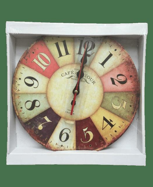 Grazing 12- Vintage Arabic Numerals