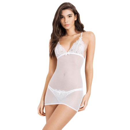Tearose Babydoll With Briefs