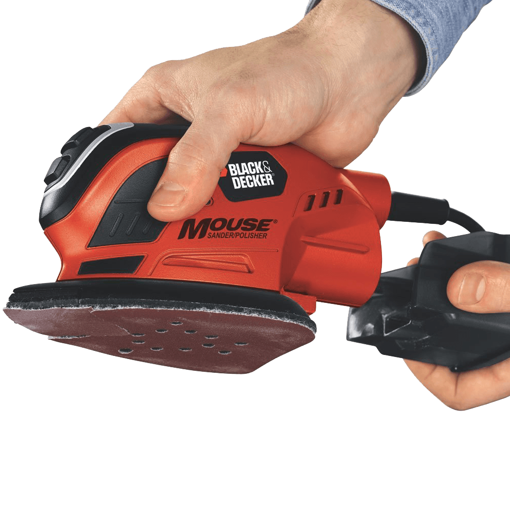 MS800B Mouse Detail Sander With Dust Collection