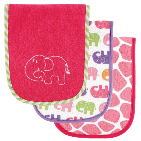 Luvable-Friends-Safari-Themed-Burp-Cloths-3-Pack