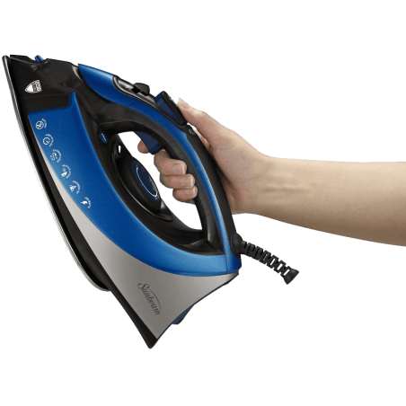 Turbo Steam Master Iron with Anti-Drip System