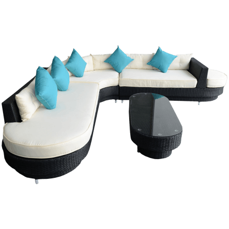 Oval Sofa Sectional Furniture Set