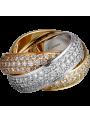 Trinity de Cartier ring
