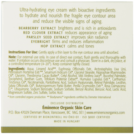 Bearberry Eye Repair Cream