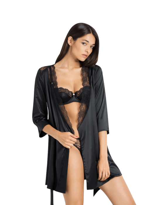 Marisela Lingerie Black
