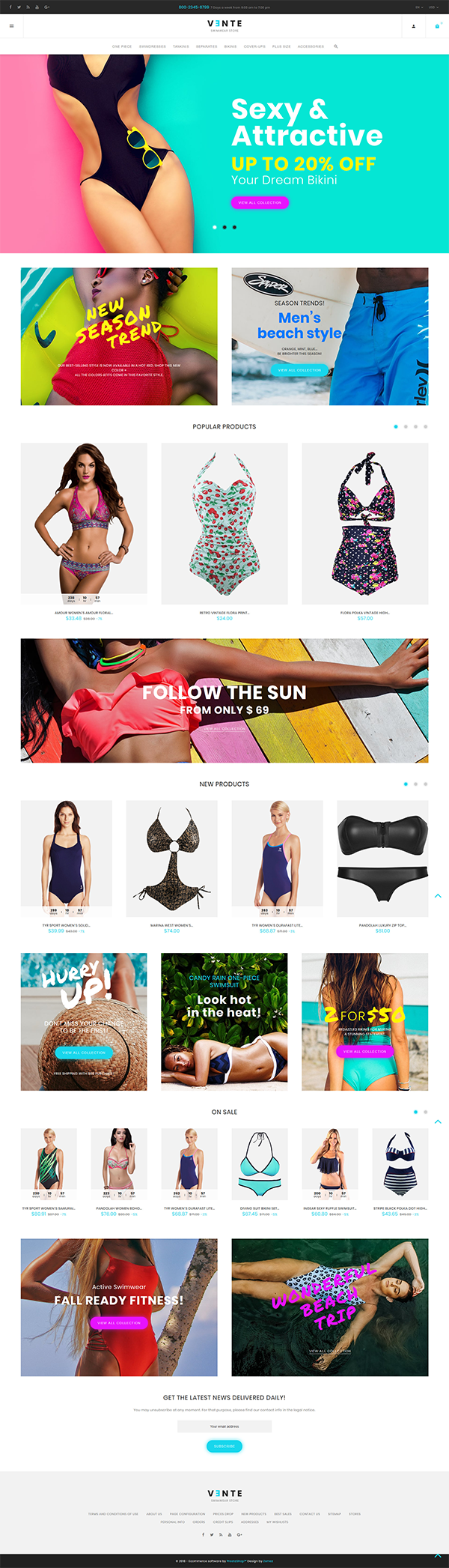 Swimsuit & Underwear Store