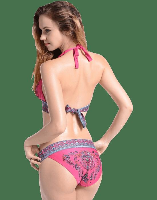 Imilan Boho Paisley Bikini...