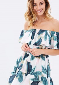 MINKPINK Avalon Off-the-Shoulder Dress