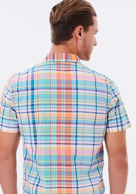Lacoste SS Plaid Shirt