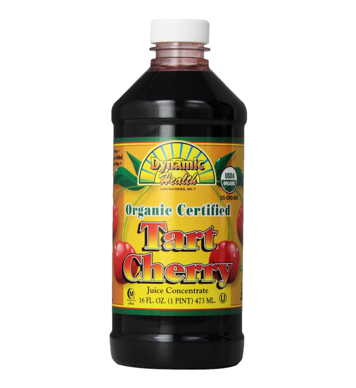 Dynamic Health 100% Pure Organic Certified Tart Cherry Juice Concentrate