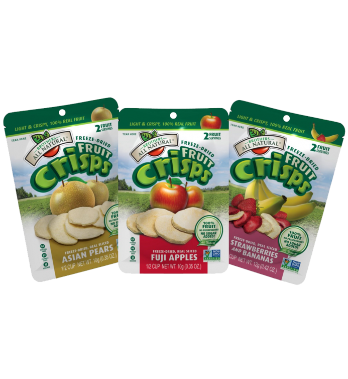 Natural Fruit Crisps Variety Pack 24 Count