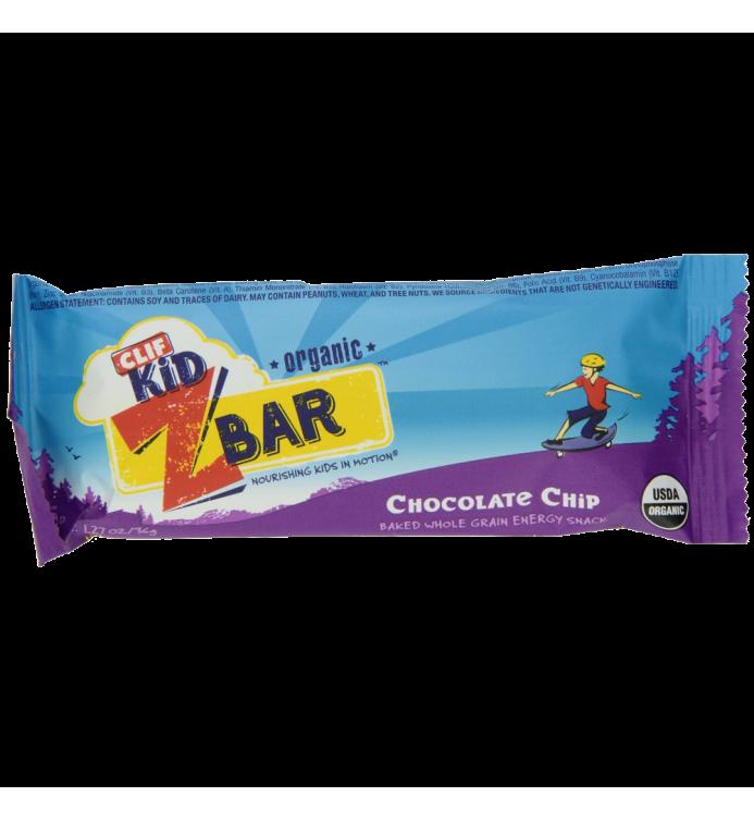Clif Kid Organic ZBar Organic Chocolate Chip 18 Count
