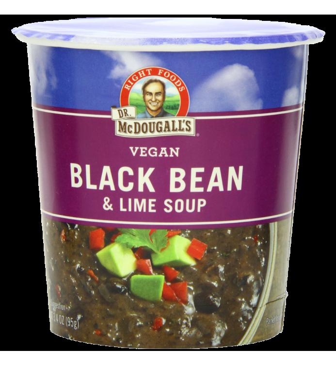 Dr. McDougall's Right Foods Vegan Black Bean & Lime Soup