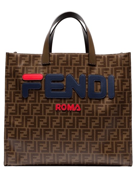 Fendi Mania Brown Logo...