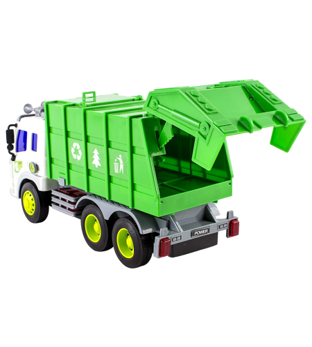 Powered Garbage Truck Toy...