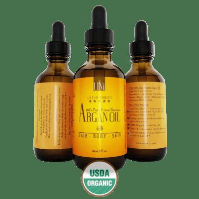100% Organic Pure Moroccan Argan Oil