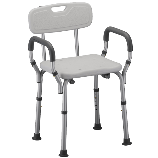 9026 Quick Release Shower Chair with Back