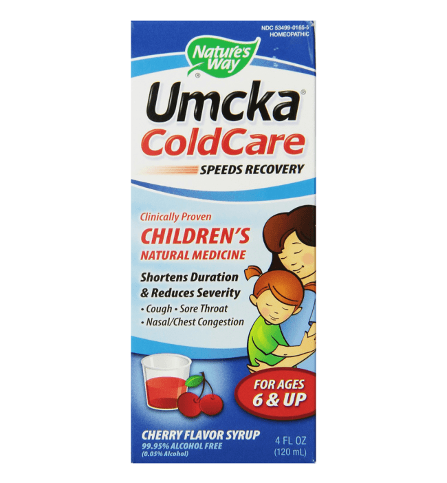 Nature's Way Umcka Coldcare Children's Cherry Syrup