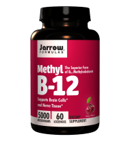 Jarrow Formulas Methylcobalamin (Methyl B12) 5000mcg 60 Lozenges