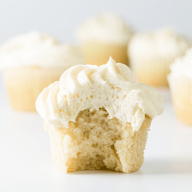The Best Vanilla Cupcake...