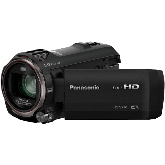 Camcorder with Wireless Smartphone Twin Video Capture