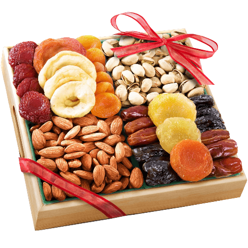 Savory Favorites Assorted Nuts Gift Tray