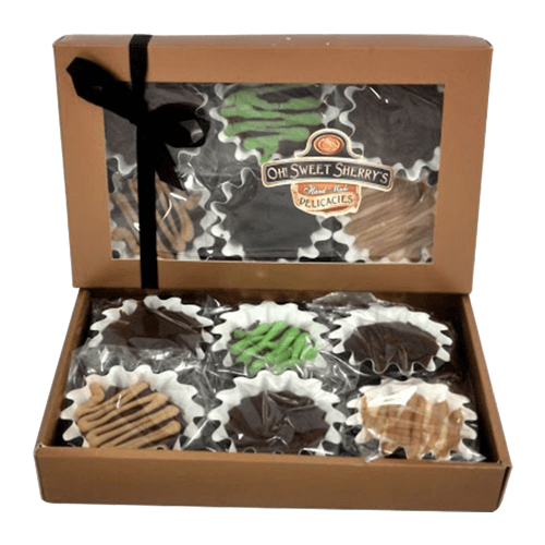 Gourmet Fudge Candy Gift Box 6 Flavors