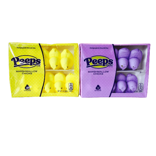 Peeps Marshmallow Chicks Includes Two Boxes