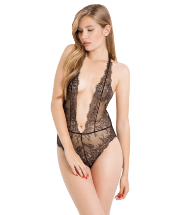 Valentina Corded Lace Slip
